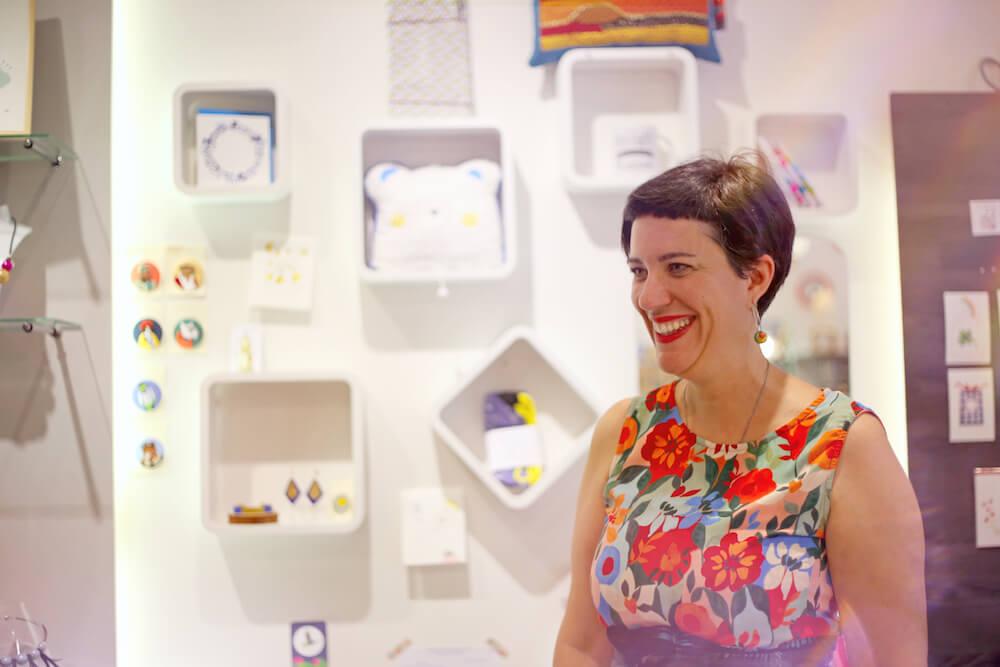 Amandine Bernard créatrice fondatrice boutique de créateurs chouette rennes