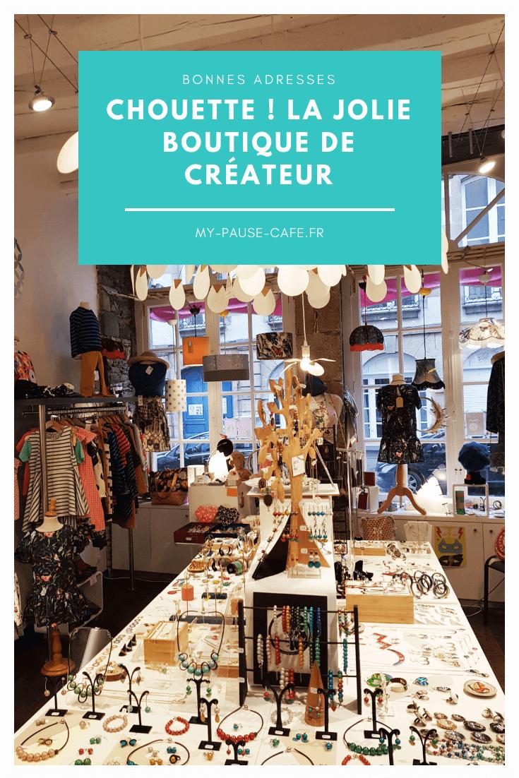 My pause café, blog boutique chouette Rennes bonnes adresses