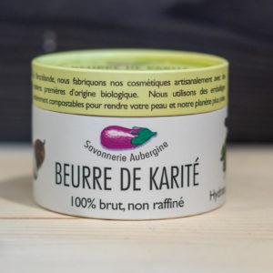 Beurre de karaté Savonnerie Aubergine Rennes