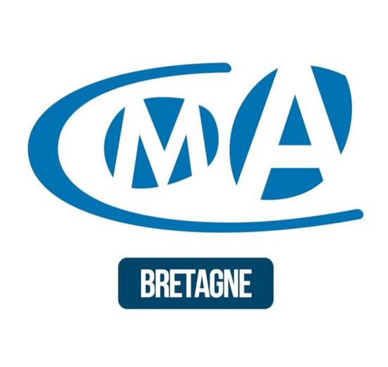CMA chambres de métiers et de l'artisanat Bretagne logo