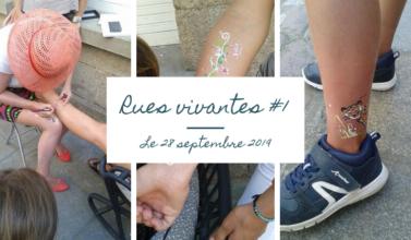 évènement rennes 28 septembre 2019 boutique chouette rue du chapitre Justine Prigent tatouage éphémère