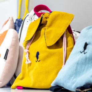 Sac à dos enfant maternelle crèche Rennes lapin Boutique de créateurs