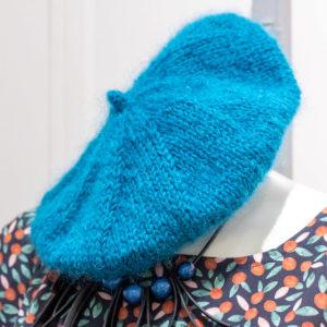 béret en tricot femme créatrice Rennes cadeaux de noel